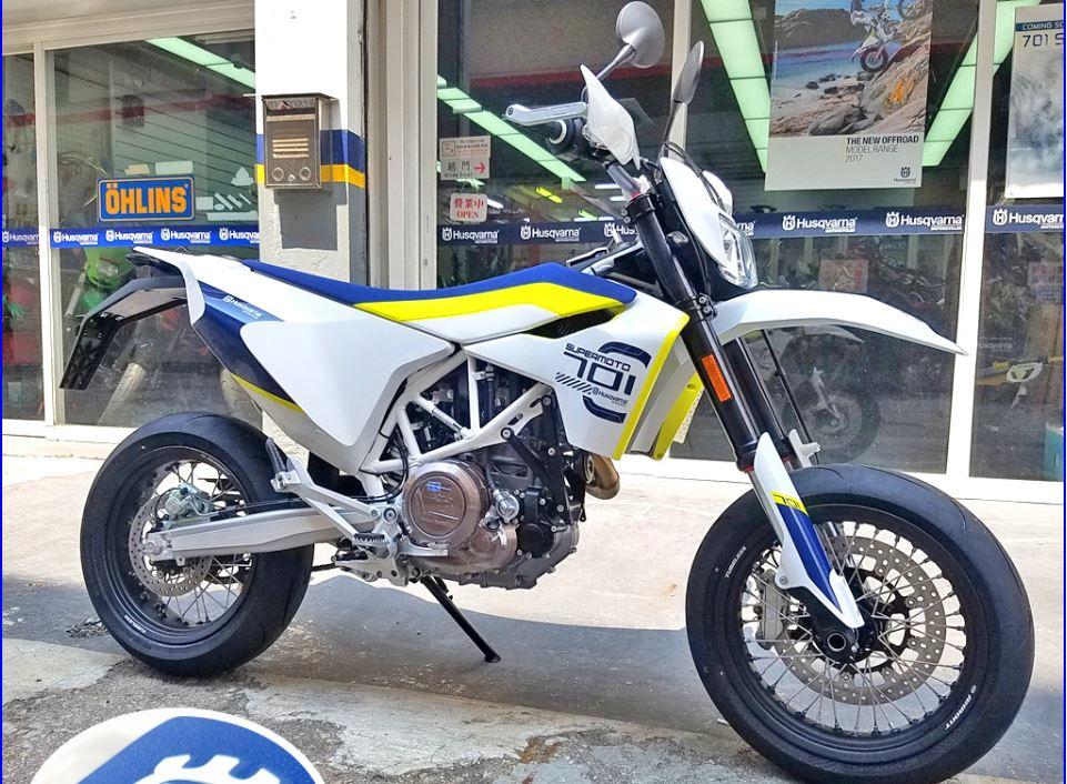 HUSQVARNA 701 SUPERMOTO 2019    -「Webike摩托車市」
