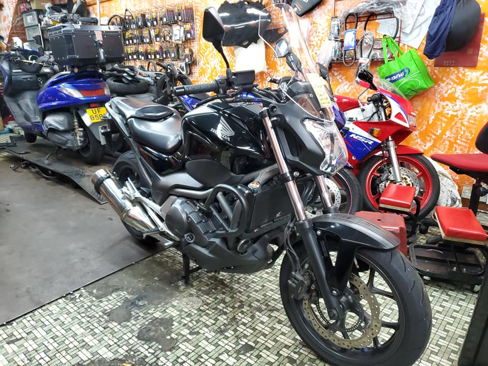 HONDA NC700S 2012    -「Webike摩托車市」