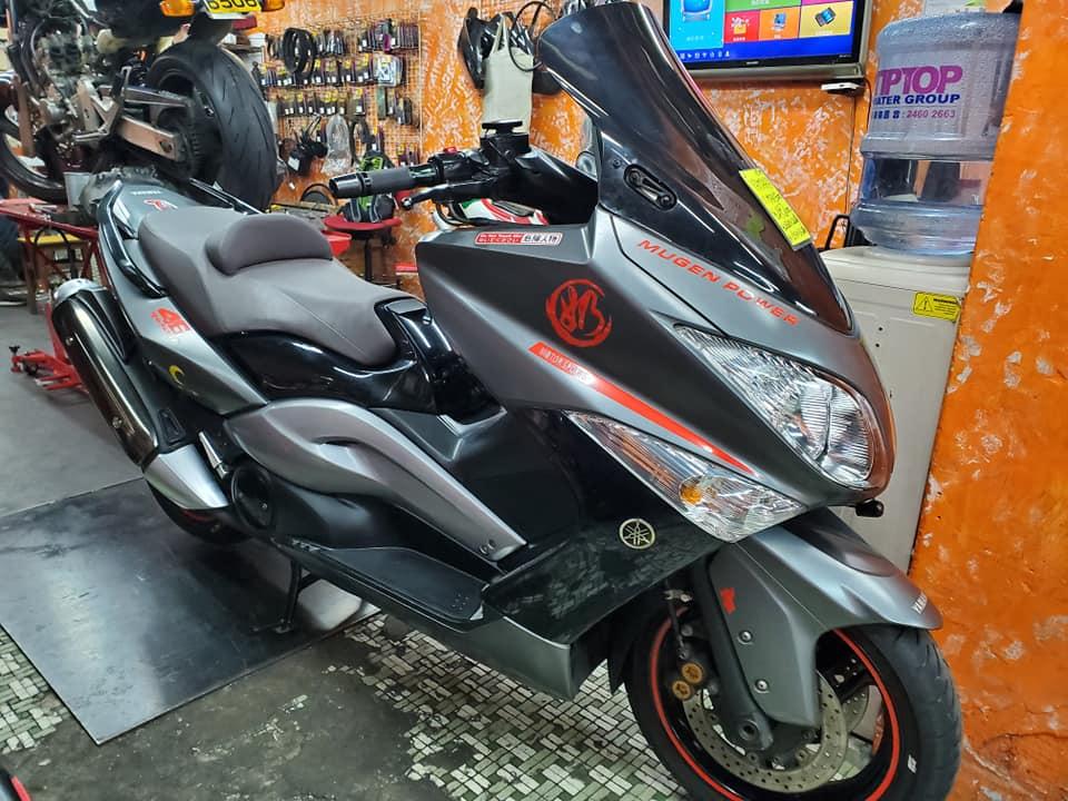 YAMAHA TMAX500 2009    -「Webike摩托車市」