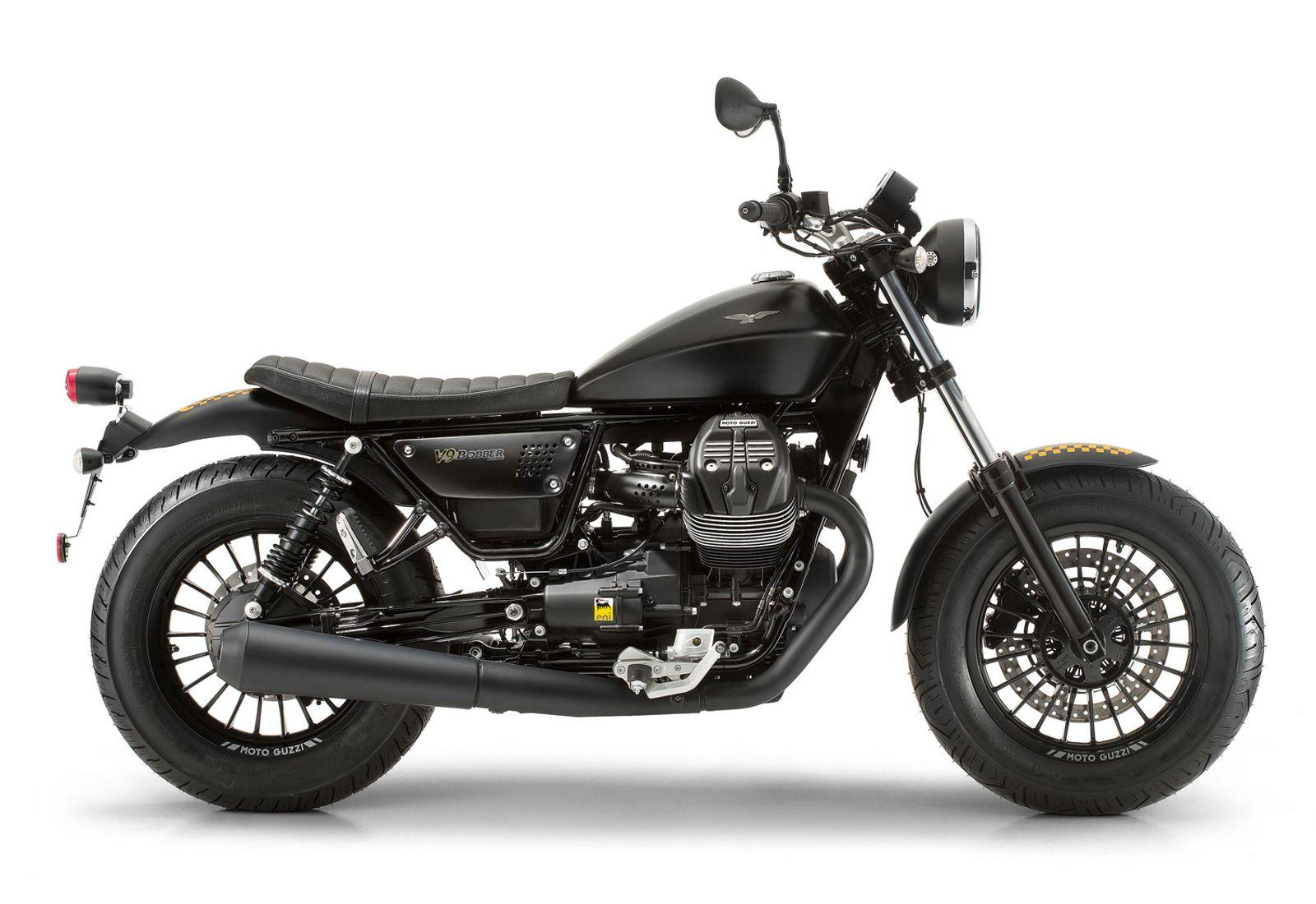 MOTOGUZZI V9 BOBBER 2019 黑色 - 「Webike摩托車市」