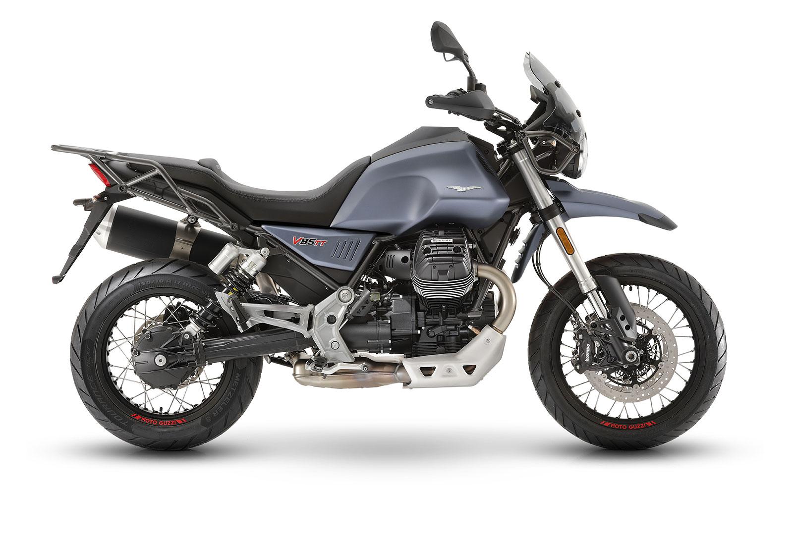 MOTOGUZZI V85 TT 2019 淺藍色 - 「Webike摩托車市」