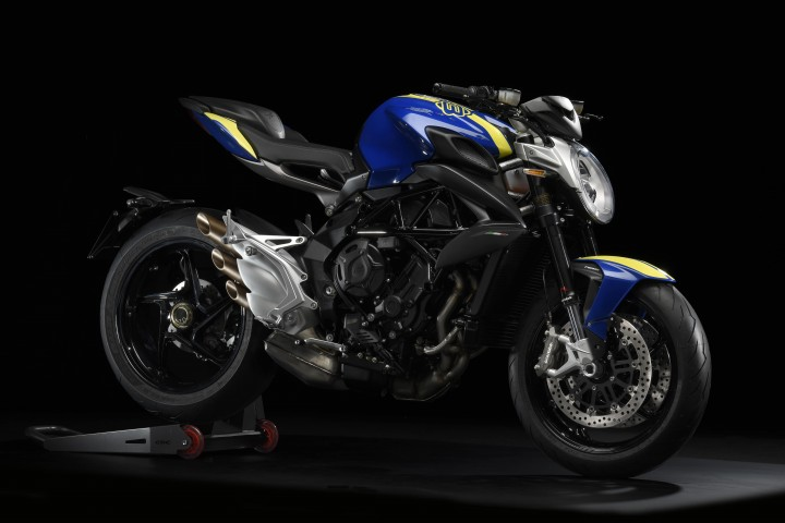 MV AGUSTA BRUTALE800 2019 藍色 - 「Webike摩托車市」