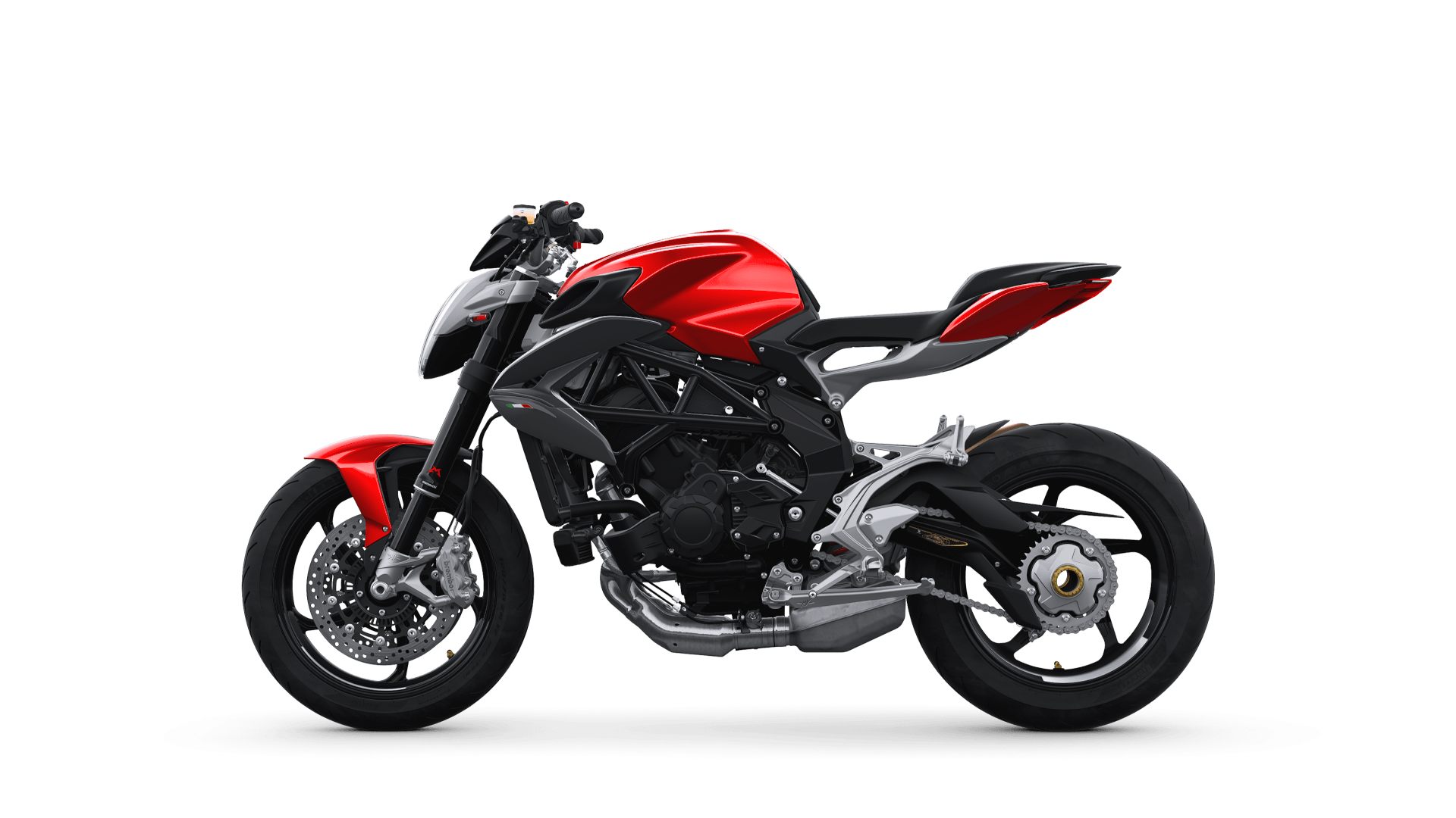 MV AGUSTA BRUTALE800 2019 紅色 - 「Webike摩托車市」