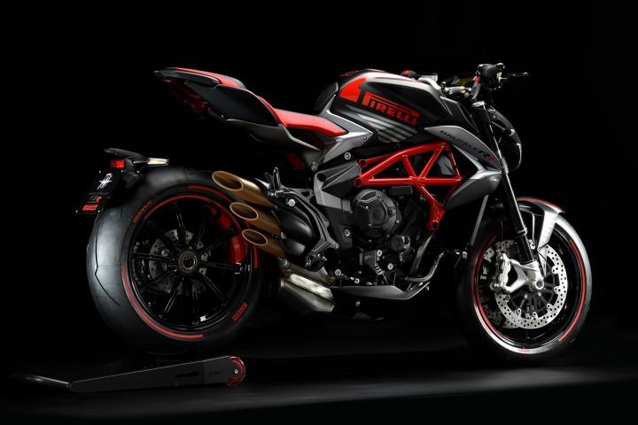 MV AGUSTA BRUTALE800RR Pirelli 2019 黑紅 - 「Webike摩托車市」