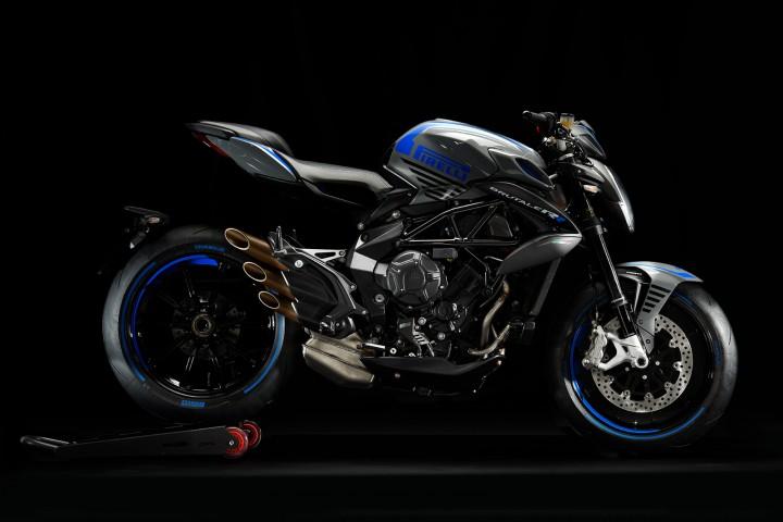 MV AGUSTA BRUTALE800RR Pirelli 2019 白色 - 「Webike摩托車市」