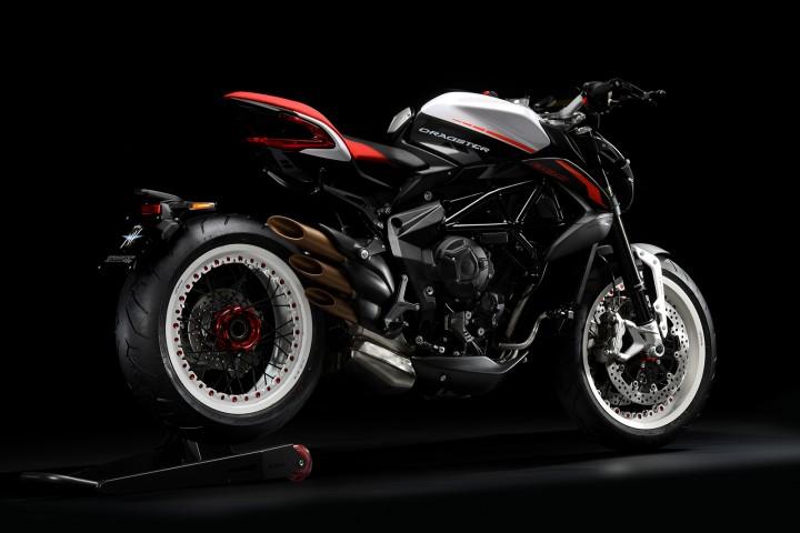 MV AGUSTA BRUTALE800 DRAGSTER RR 2019 紅白 - 「Webike摩托車市」
