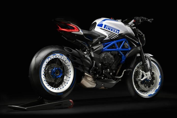 MV AGUSTA BRUTALE 800 DRAGSTER Pirellie 2019 白藍 - 「Webike摩托車市」