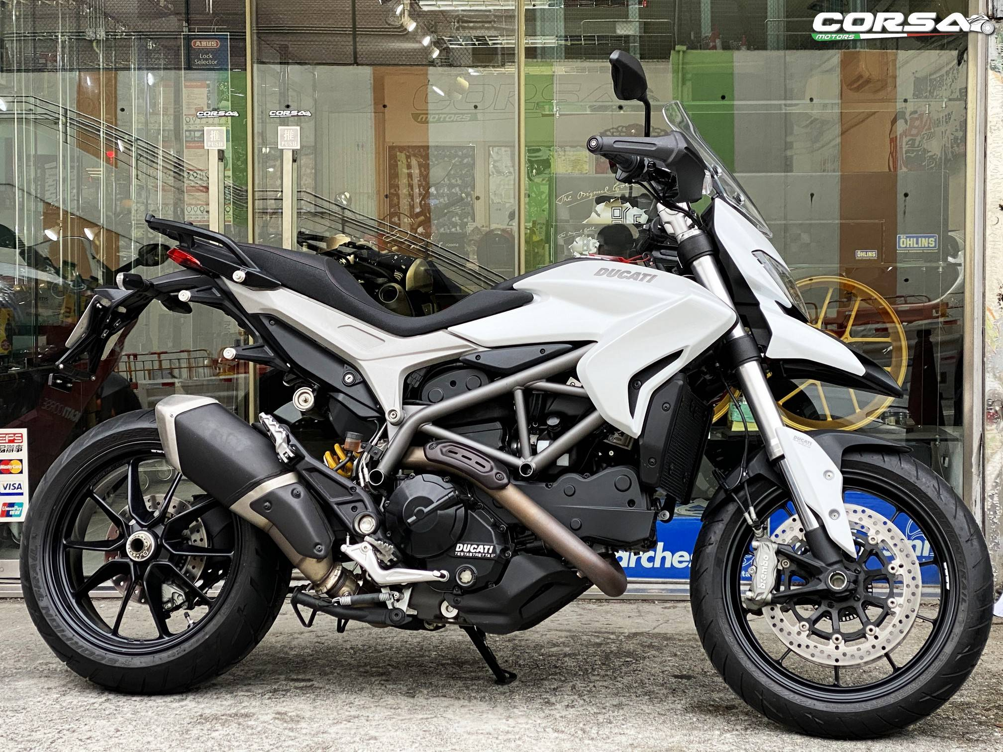 DUCATI HYPERSTRADA 2014    -「Webike摩托車市」