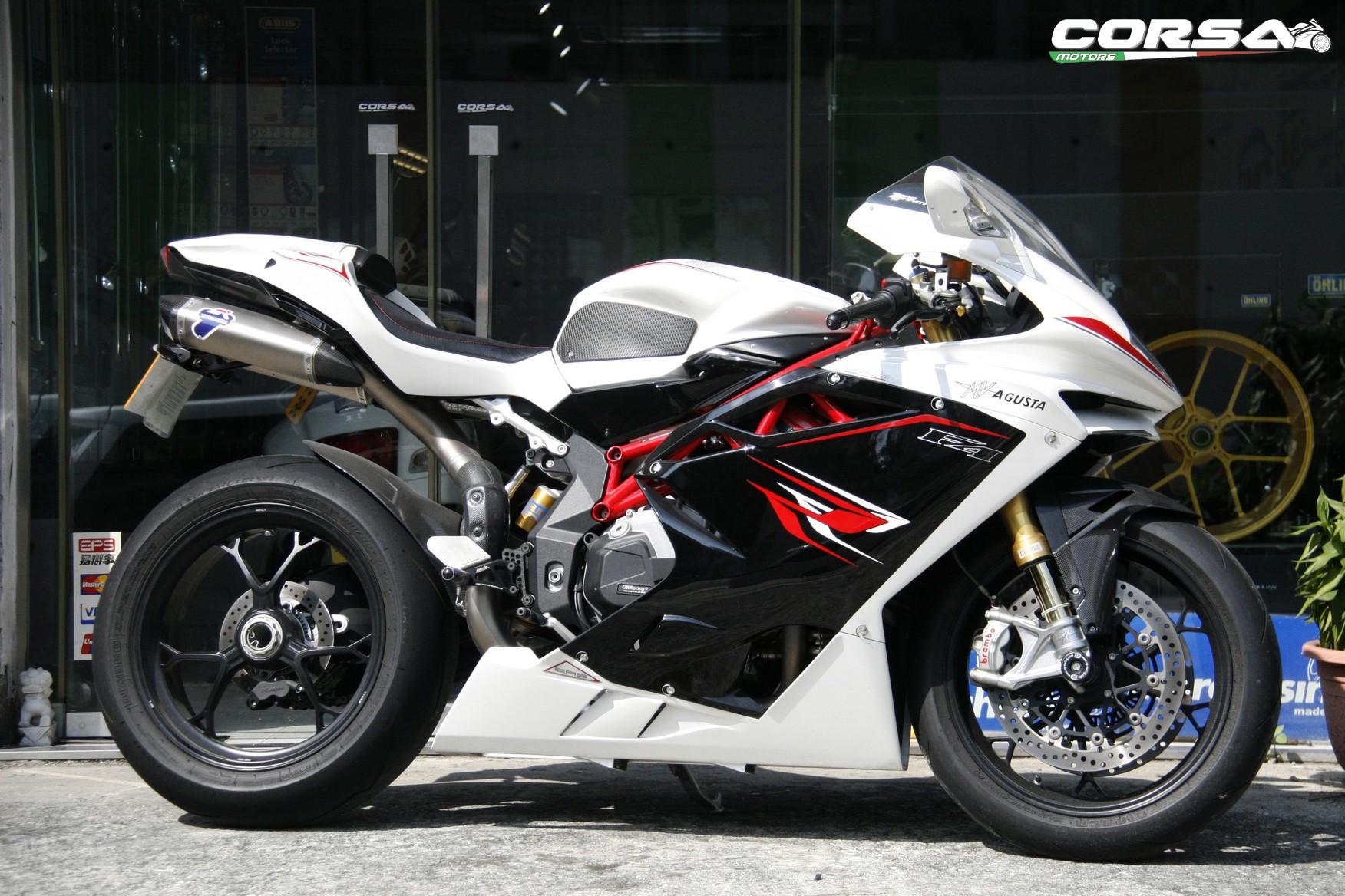 MV AGUSTA F4 RR 2013 白色 - 「Webike摩托車市」