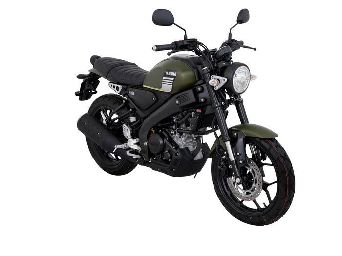 YAMAHA XSR155 2020 黑深綠 - 「Webike摩托車市」