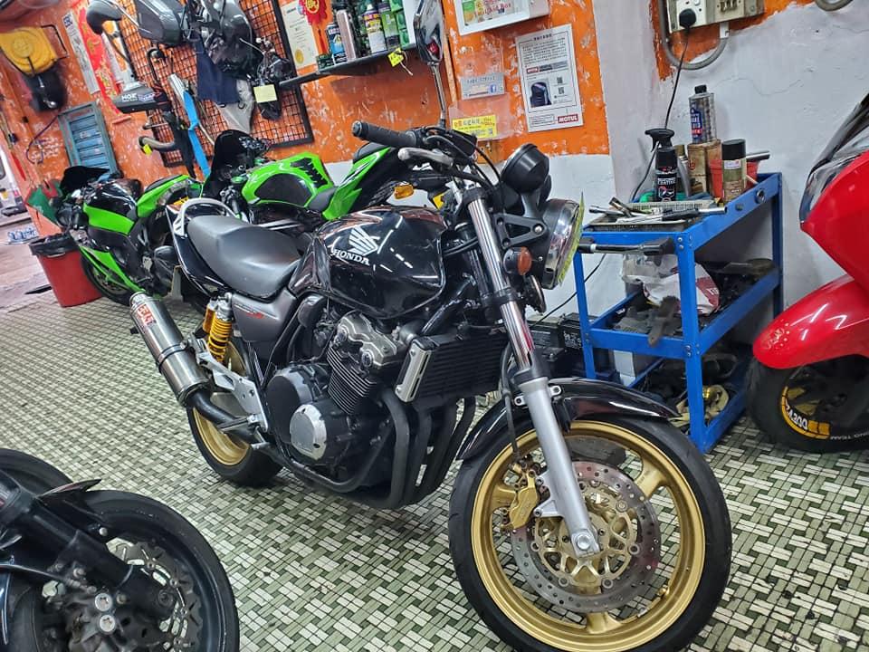 HONDA CB400SF 2005    -「Webike摩托車市」