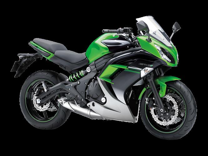 KAWASAKI ER-6f 2016 綠混搭 - 「Webike摩托車市」