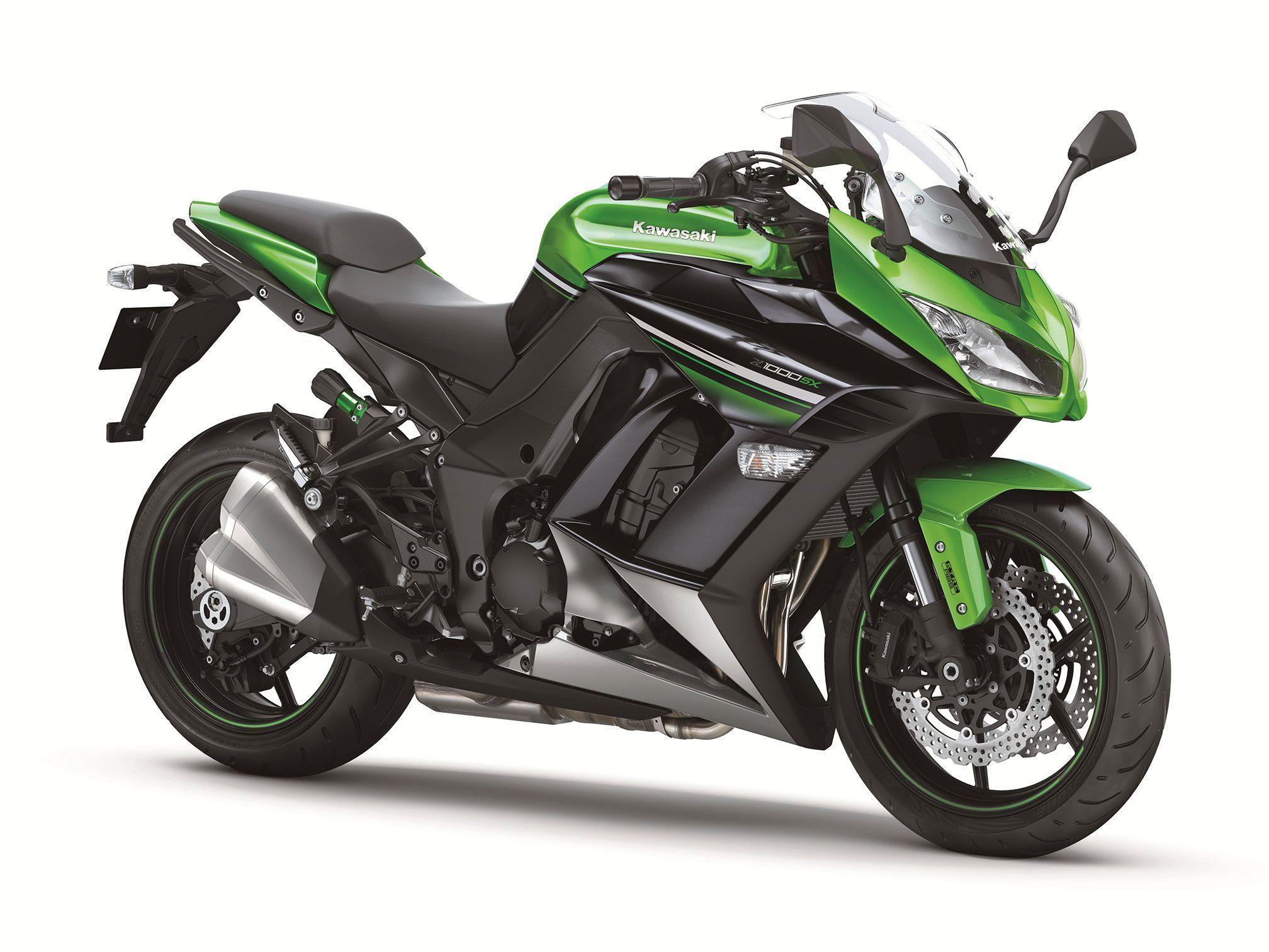 KAWASAKI Z1000SX 2017 黑色 - 「Webike摩托車市」
