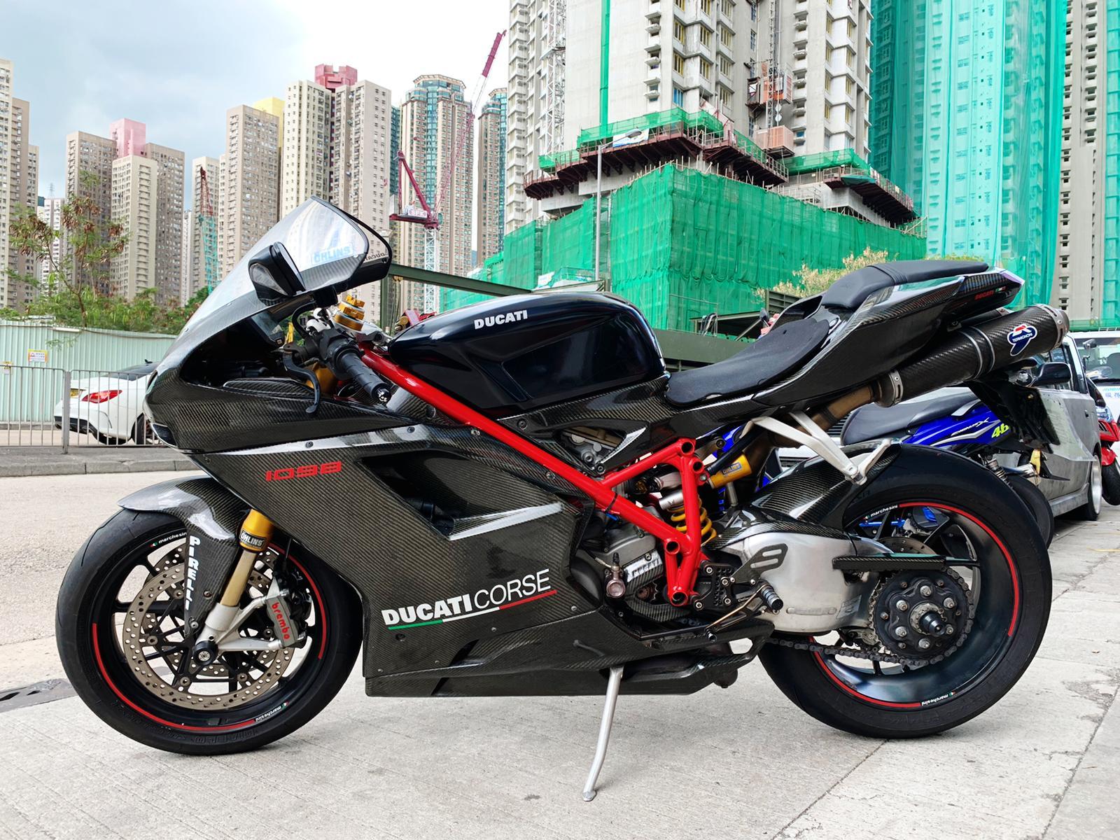 DUCATI Panigale 1098 2007 黑紅 - 「Webike摩托車市」