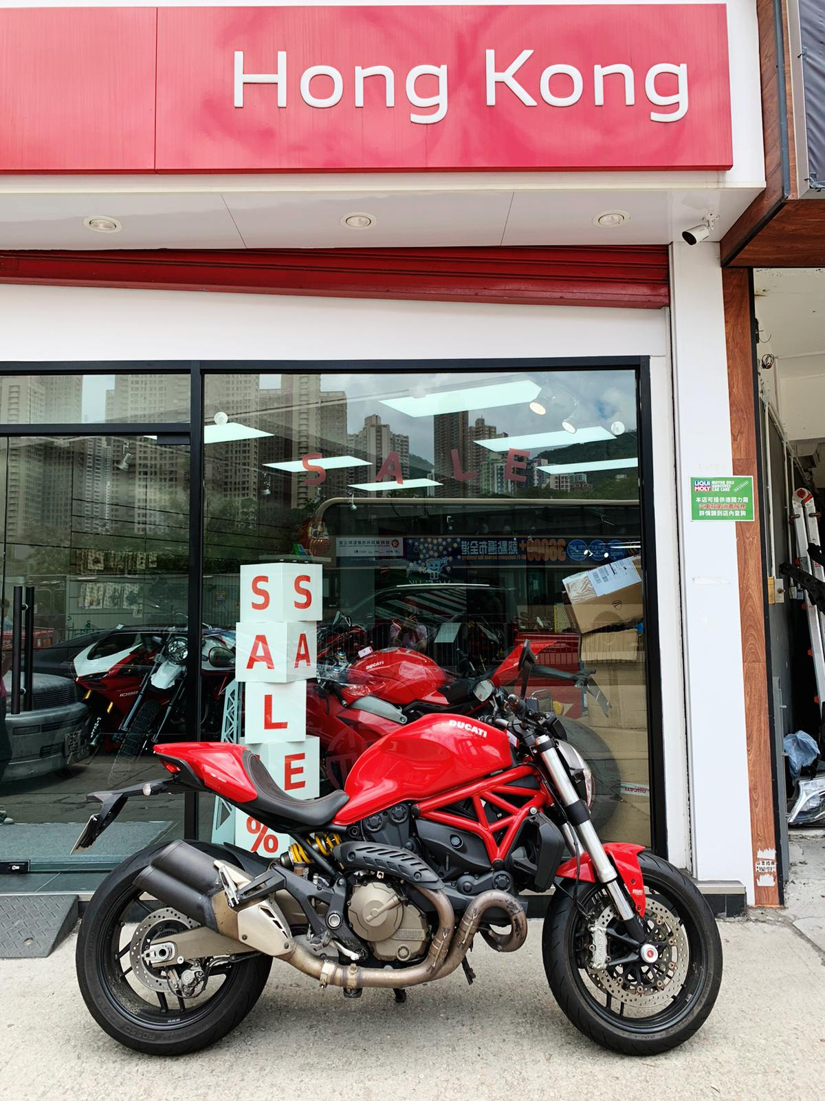 DUCATI MONSTER821 2014 紅色 - 「Webike摩托車市」