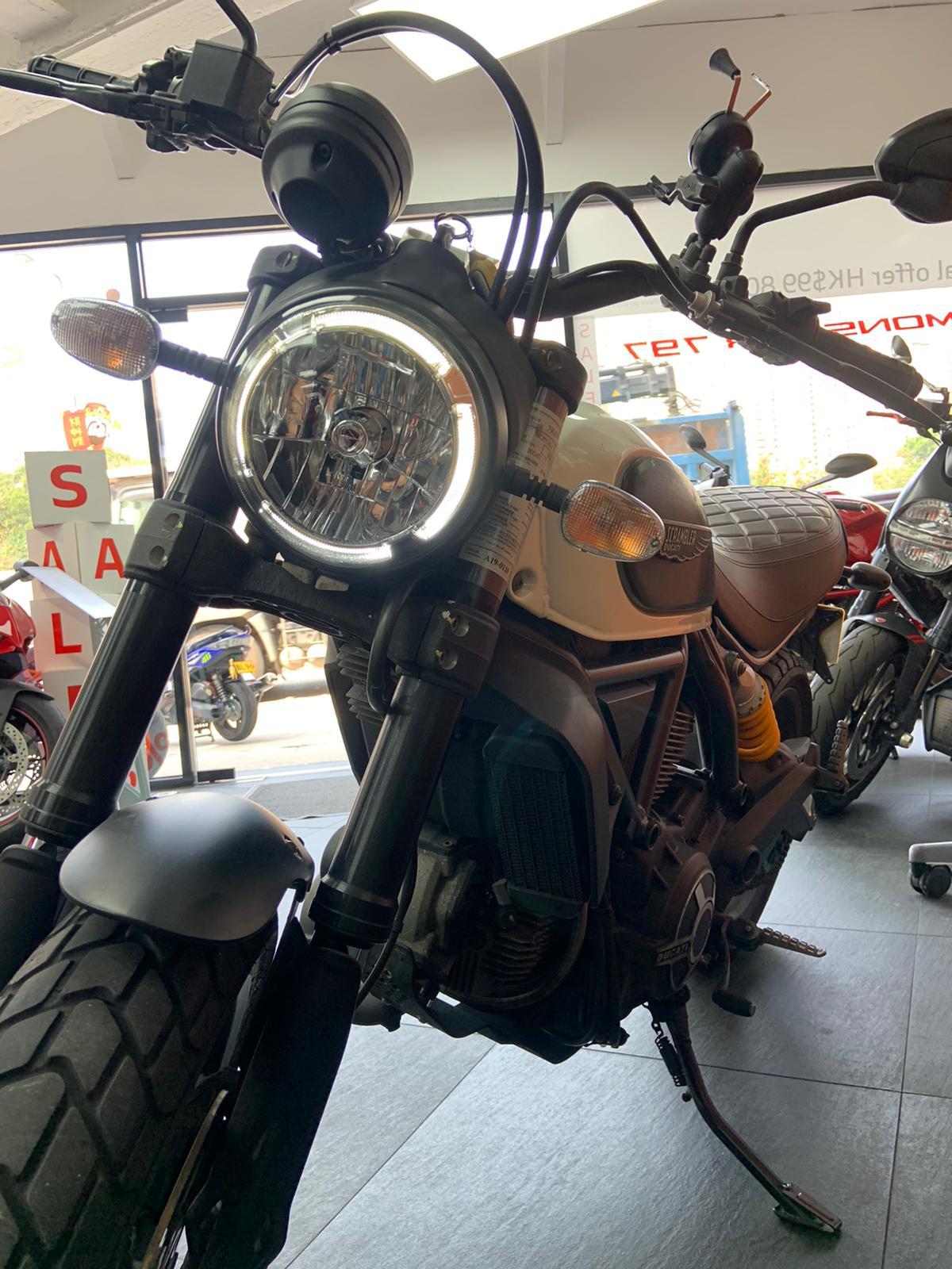 【好運車行有限公司】 DUCATI SCRAMBLER CLASSIC 二手車 2015年 - 「Webike摩托車市」