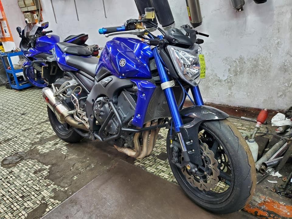 YAMAHA FZ1 (FZ1N) 2006 藍色 - 「Webike摩托車市」