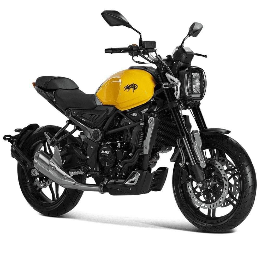 GPX MAD 300 2020 顏色 金屬銀 - 「Webike摩托車市」