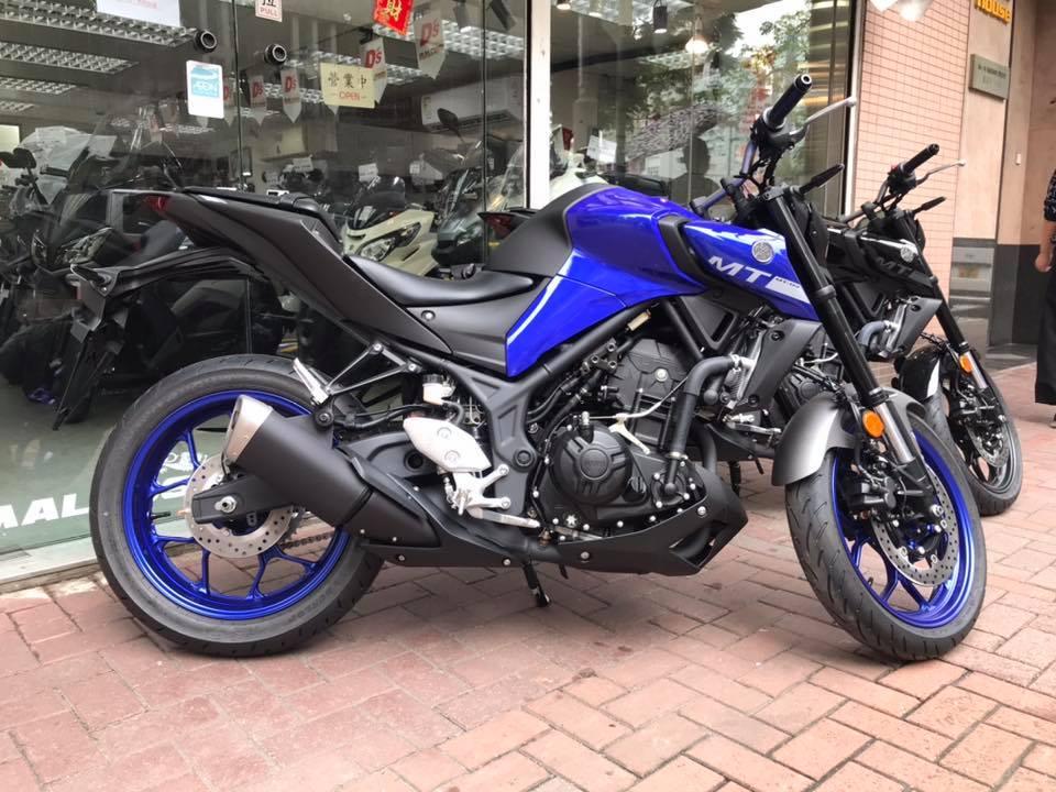 YAMAHA MT-03 2020 藍色 - 「Webike摩托車市」