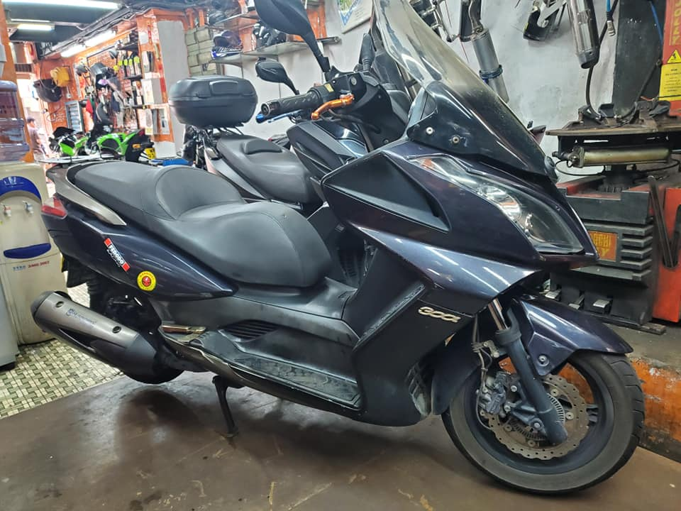 KYMCO Downtown 350i ABS 2011    -「Webike摩托車市」