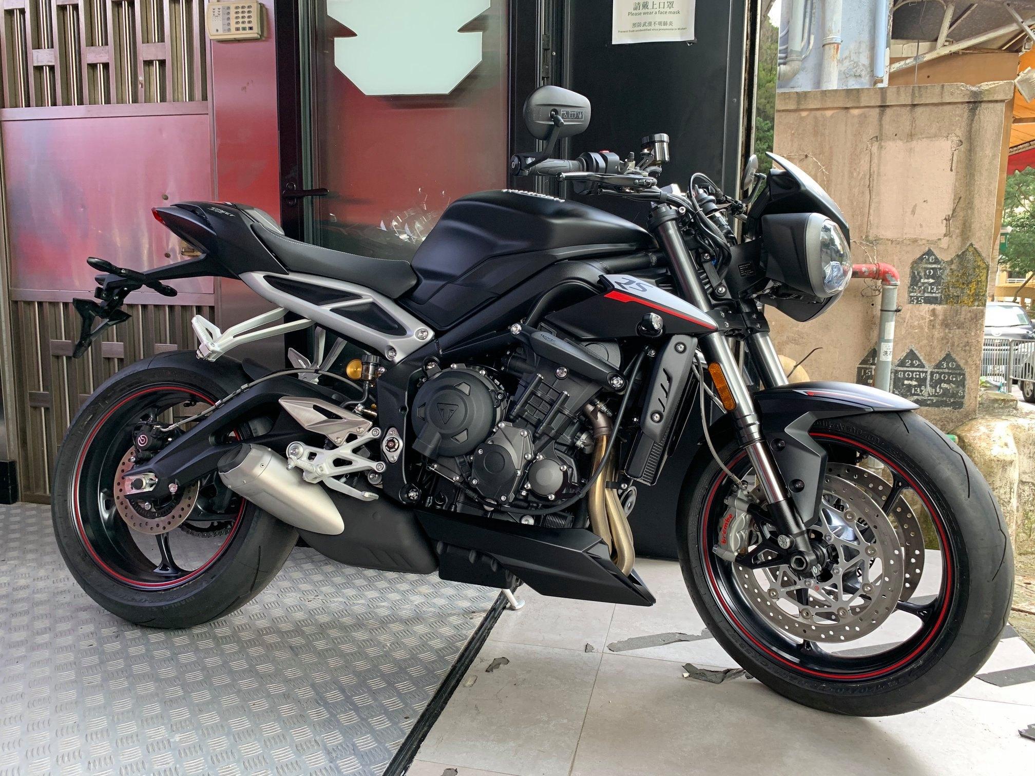 TRIUMPH STREET TRIPLE RS 2019    -「Webike摩托車市」