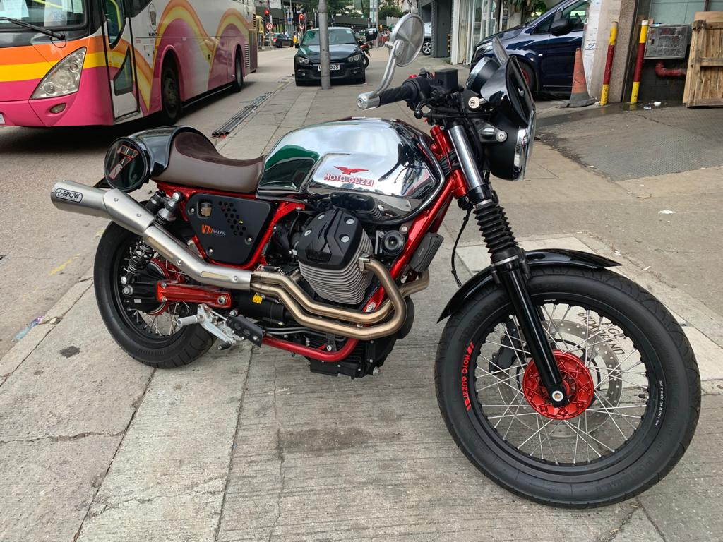 MOTOGUZZI V7Racer 2015 金屬灰 - 「Webike摩托車市」