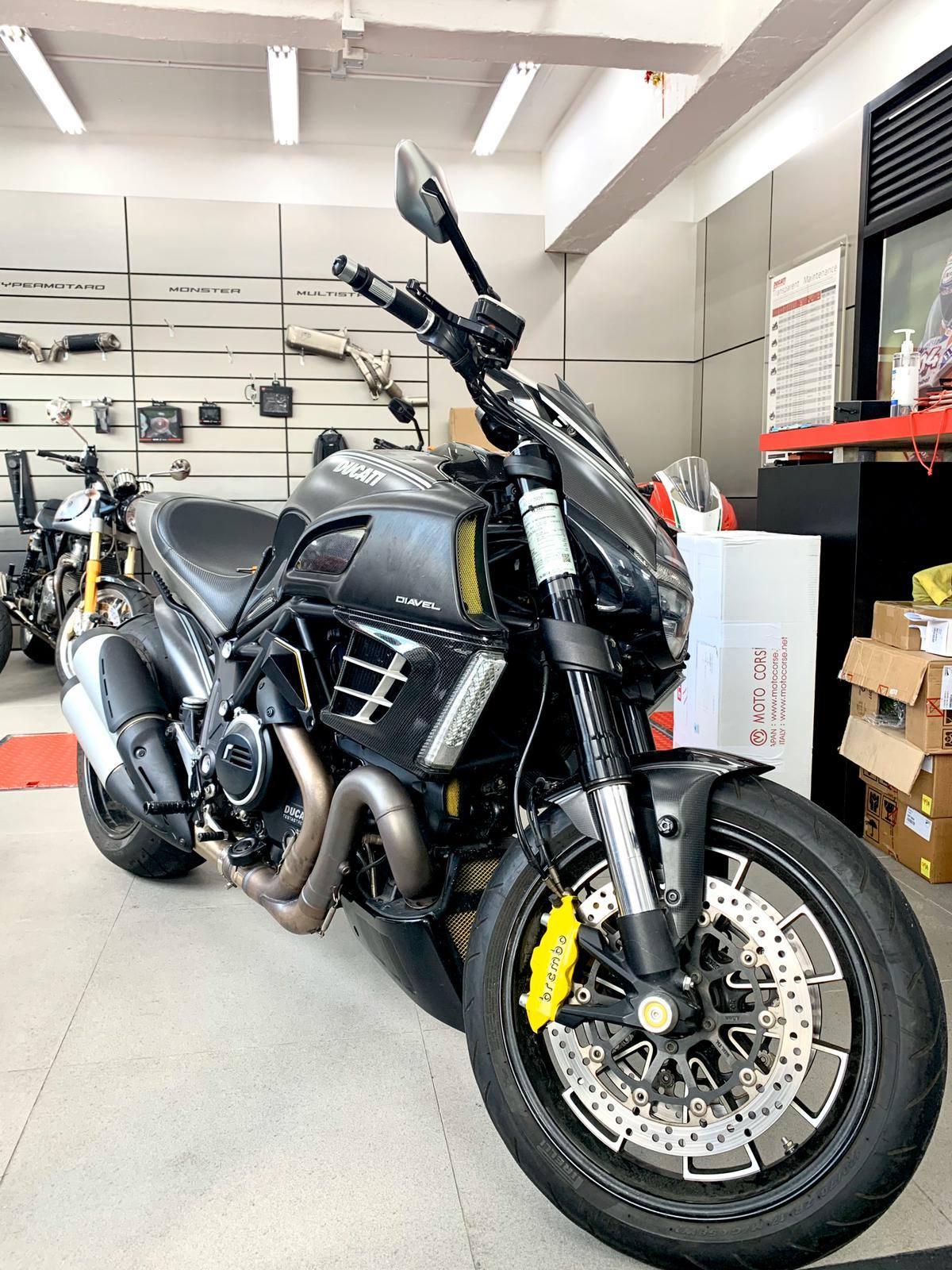 DUCATI DIAVEL 2012    -「Webike摩托車市」